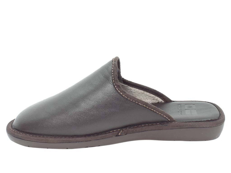 Nordikas Men Slippers Moka side view