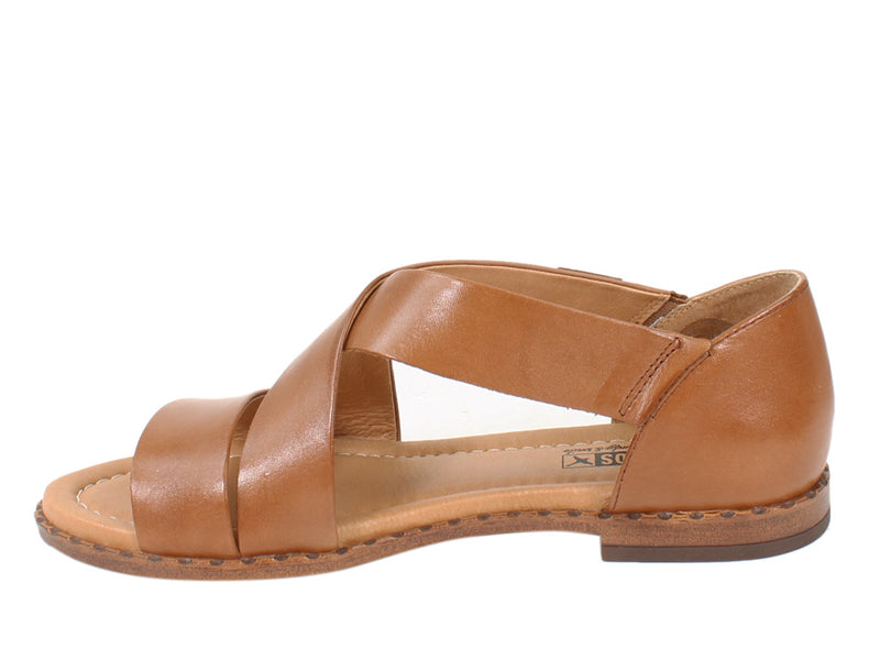 Pikolinos Women Sandals Algar W0X-0552 Brandy side view