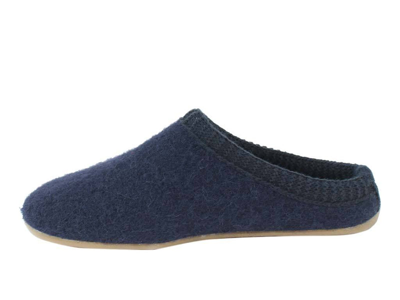 Haflinger Slippers Everest Classic Ocean side view
