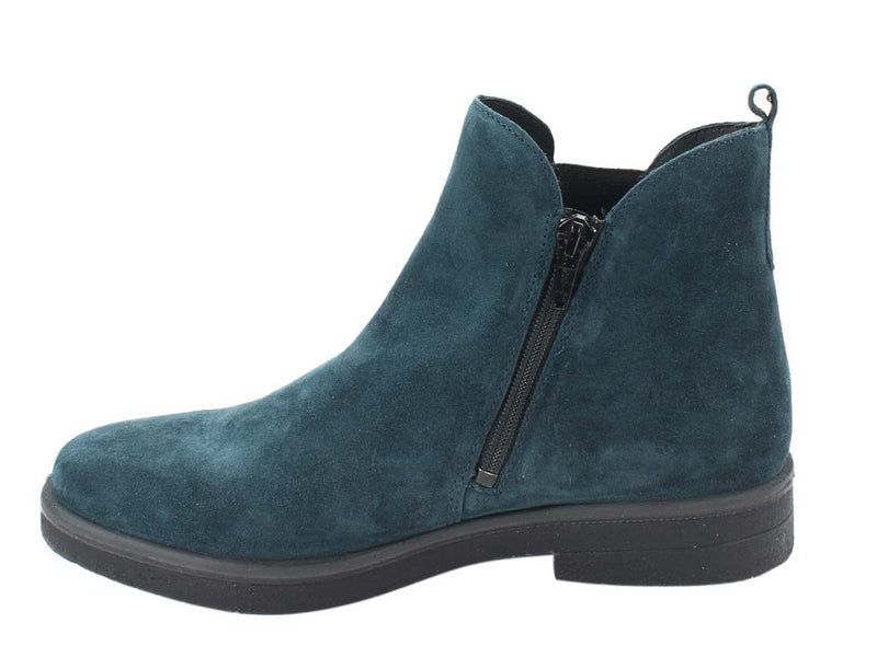 Legero Boots Soana 00684-79 Petrol side view