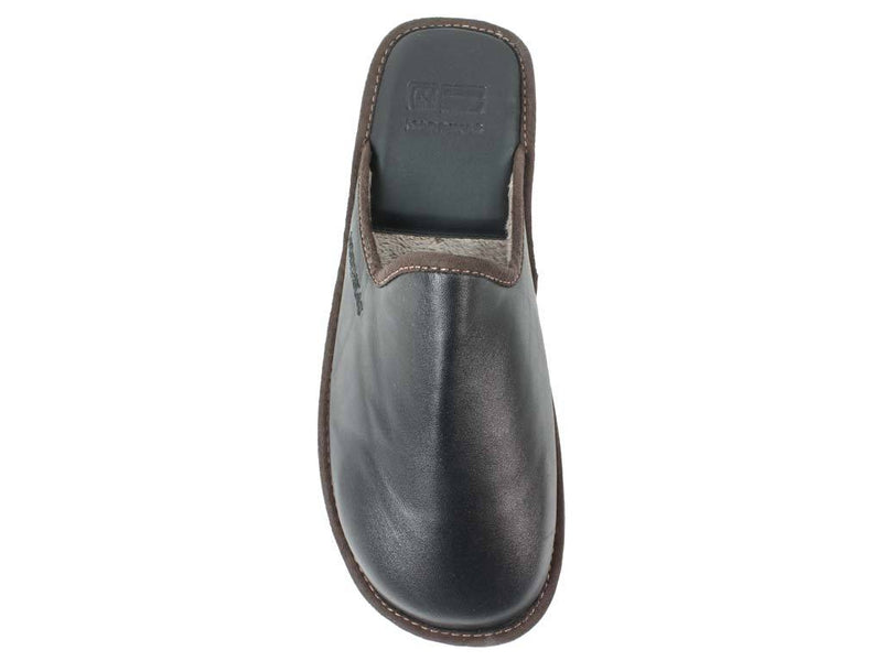 Nordikas Men Slippers Black top view