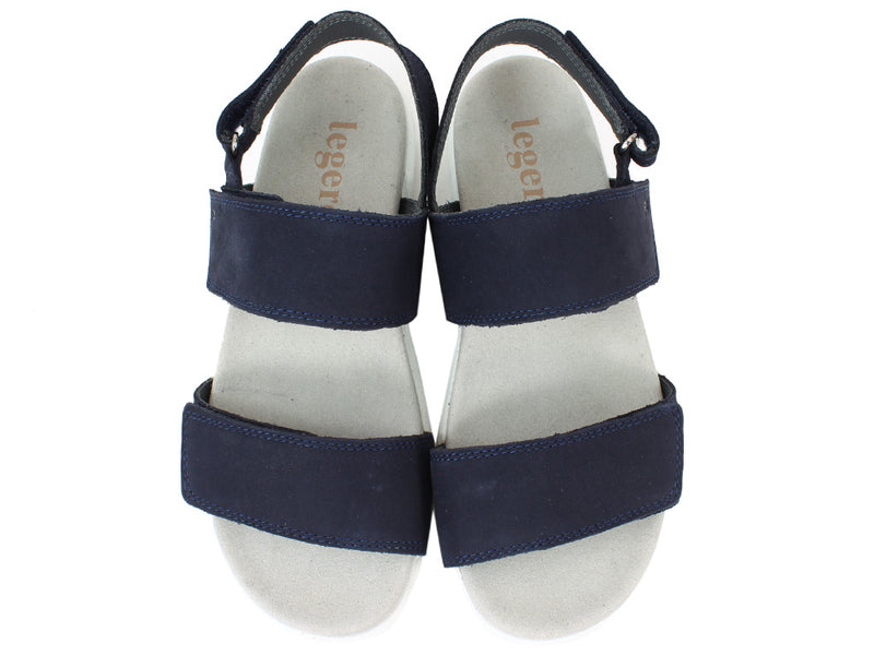Legero Sandals Women Savona 708-82 True Blue upper view