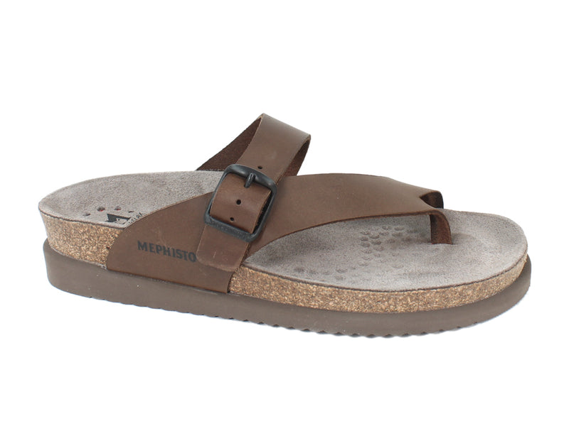Mephisto Sandals Helen Brown side view