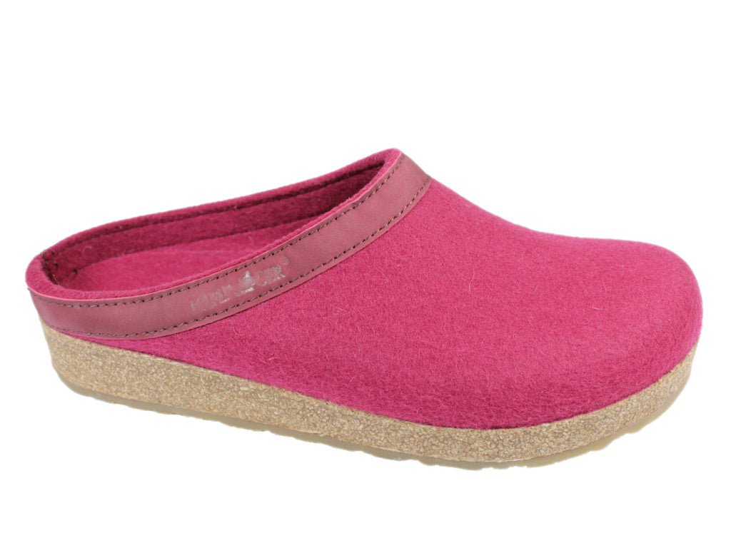 Haflinger Grizzly Torben Felt Clogs Port