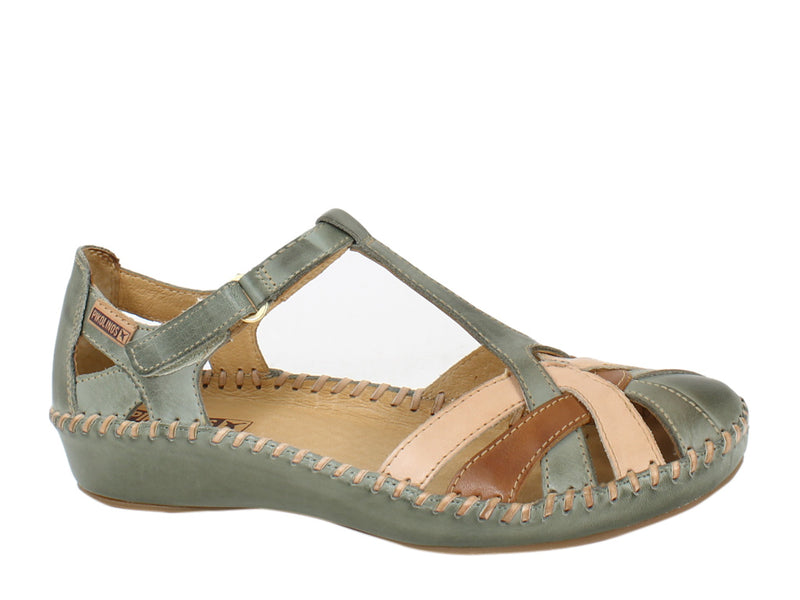 Pikolinos Sandals Vallarta 655-0732C5 Sage side view