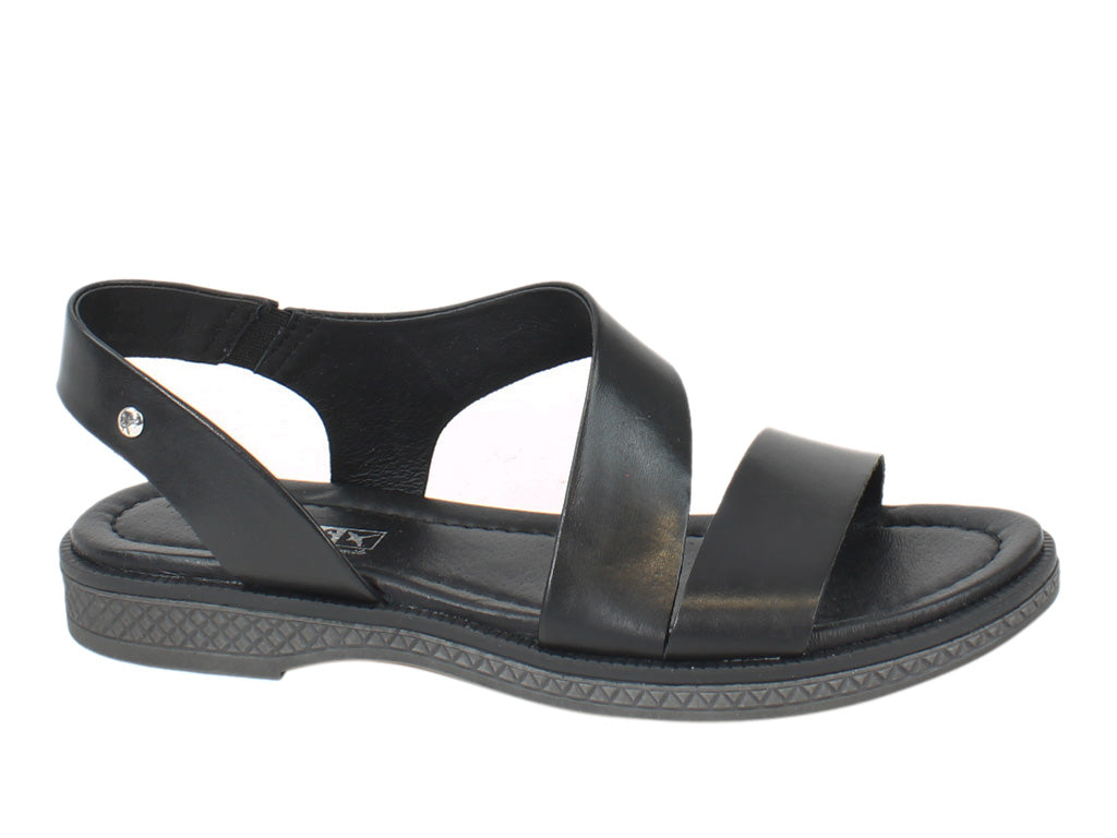 Pikolinos Women Sandals Moraira W4E-0834 Black side view