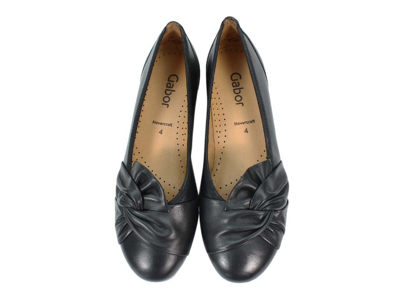 Gabor Ballerinas Claredon 34.167 Black upper view