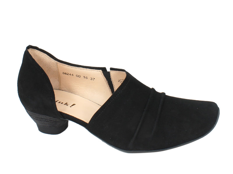 Think Women Shoes Aida 86244-00 Black side view