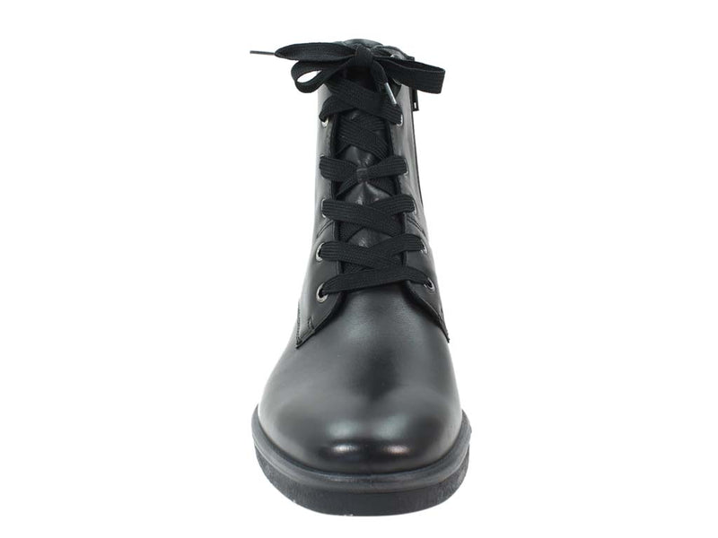 Legero Boots Soana 09689-01 Black Leather front view