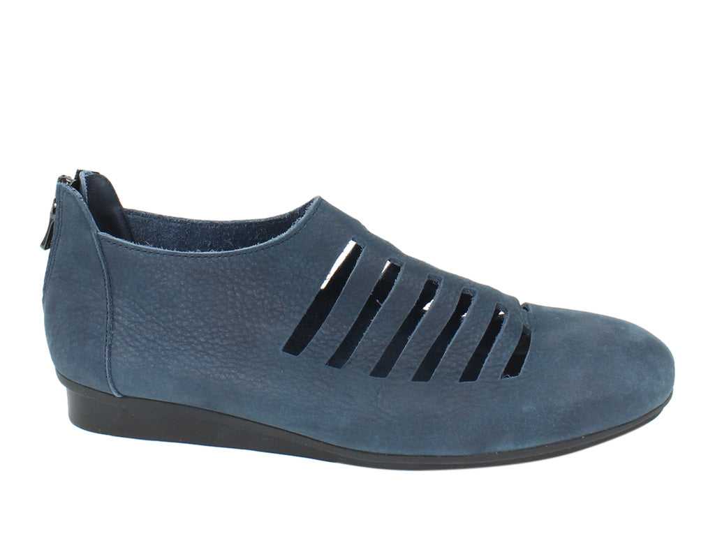 Arche Women Shoes Niarna Navy side view