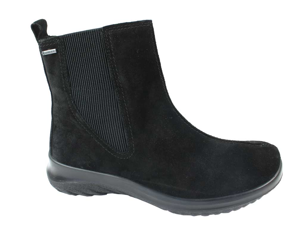 Legero Boots Soft 09571-00 Black side view