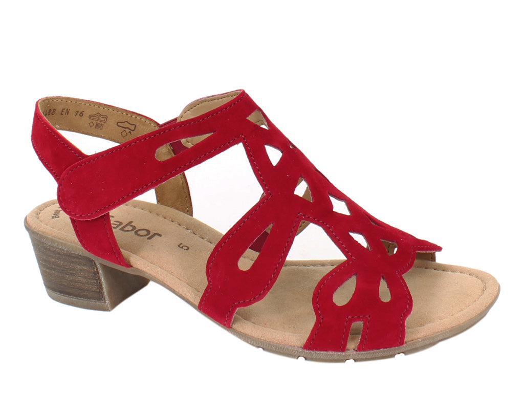 Gabor Women Sandals Holycron 44.561 Rubin side view