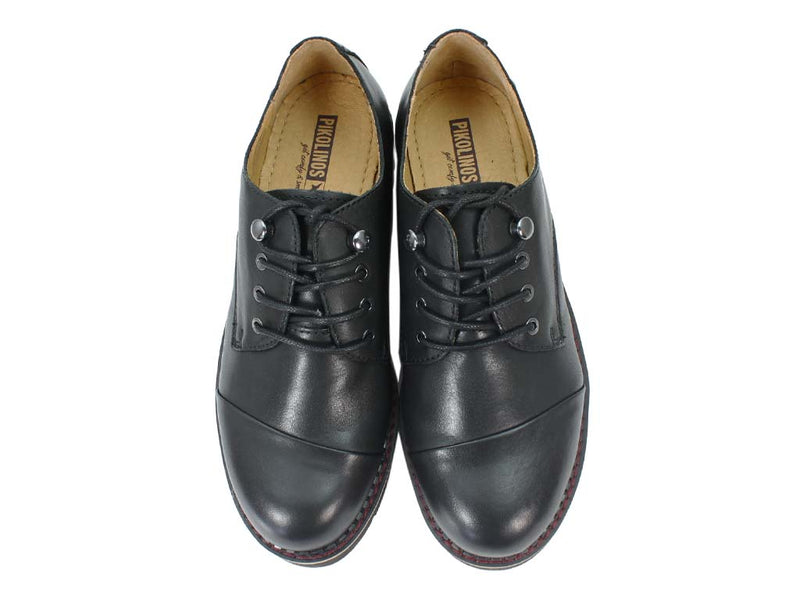 Pikolinos Shoes Vicar W0V-4900 Black upper view