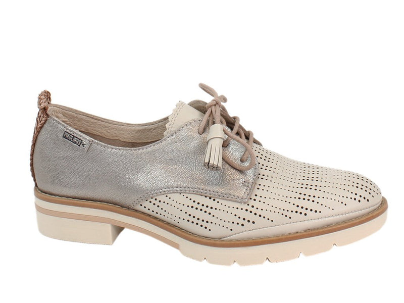 Pikolinos Women Shoes Sitges W7J-4846C1 Marfil Cream side view