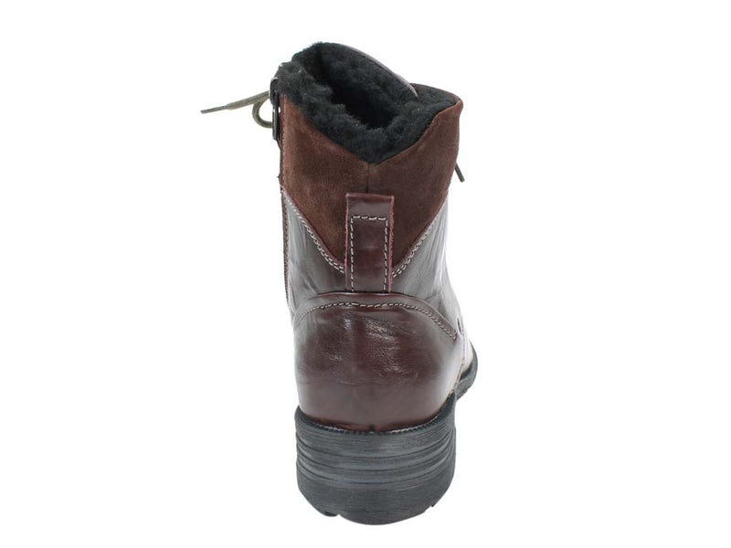 Josef Seibel Boots Sandra 83 Bordo back view