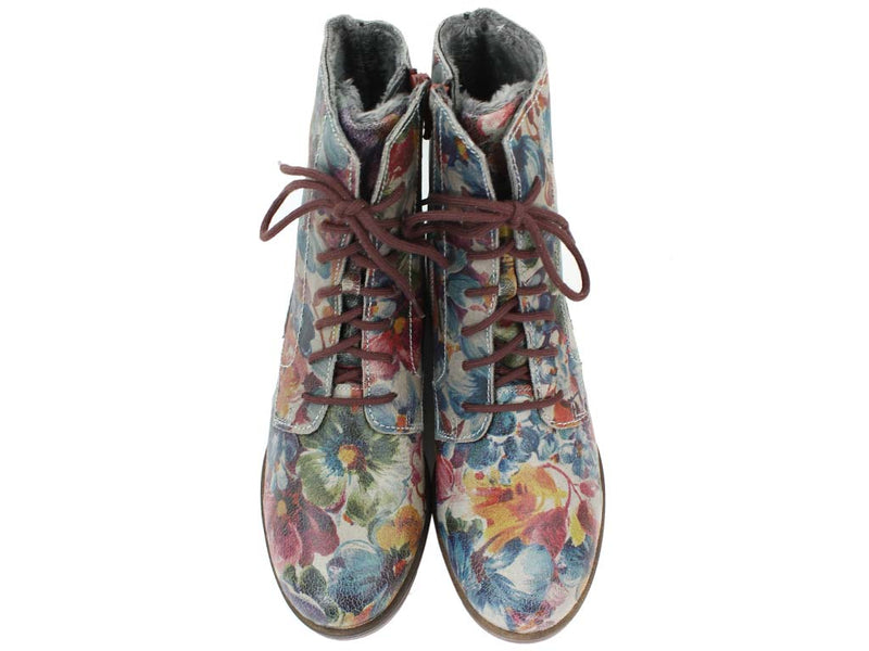 Josef Seibel Boots Sanja 01 Multicolour upper view