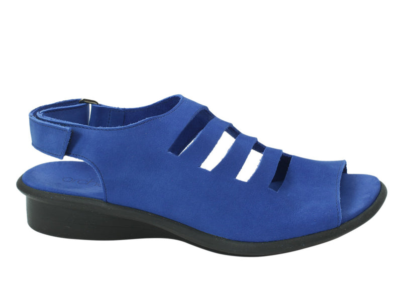 Arche Sandal Saorna Saphir Blue side view