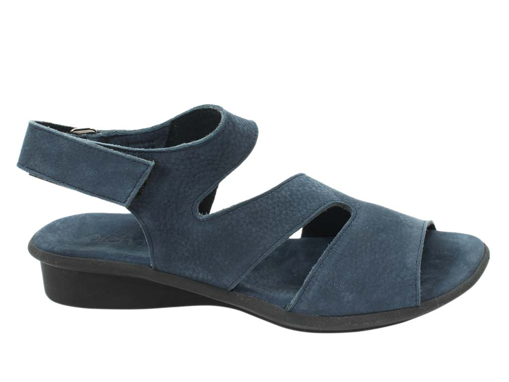 Arche Sandal Saossy Navy side view