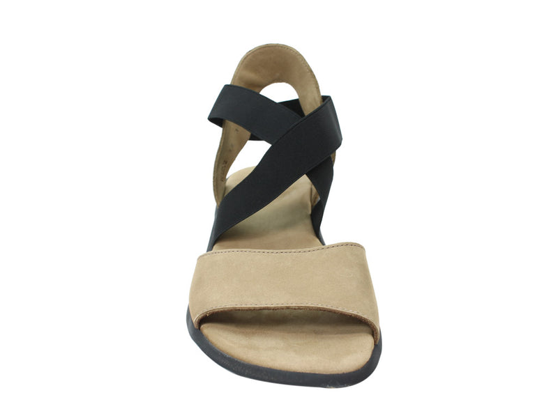 Arche Satia Sandals sand front view