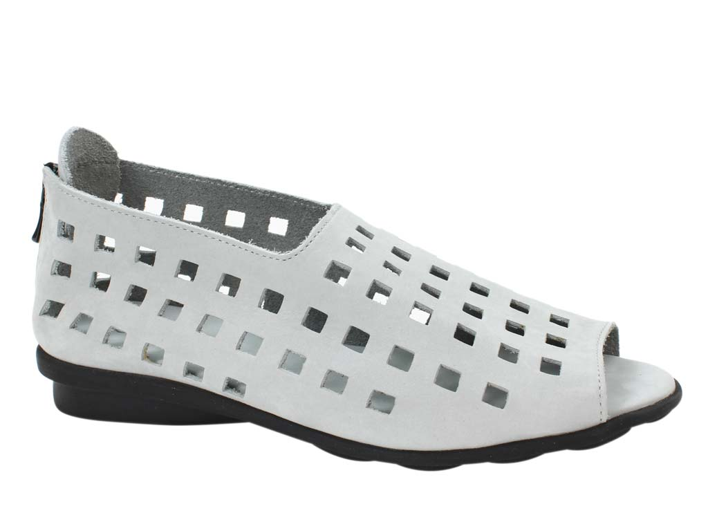 Arche Shoes Drick Brume Grey side view