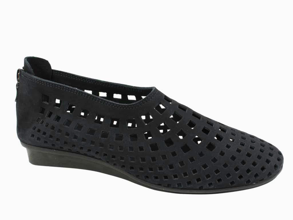 Arche Women Shoes Nirick Noir Black side view