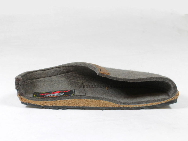 Haflinger Grizzly clogs Buffalo Graphite