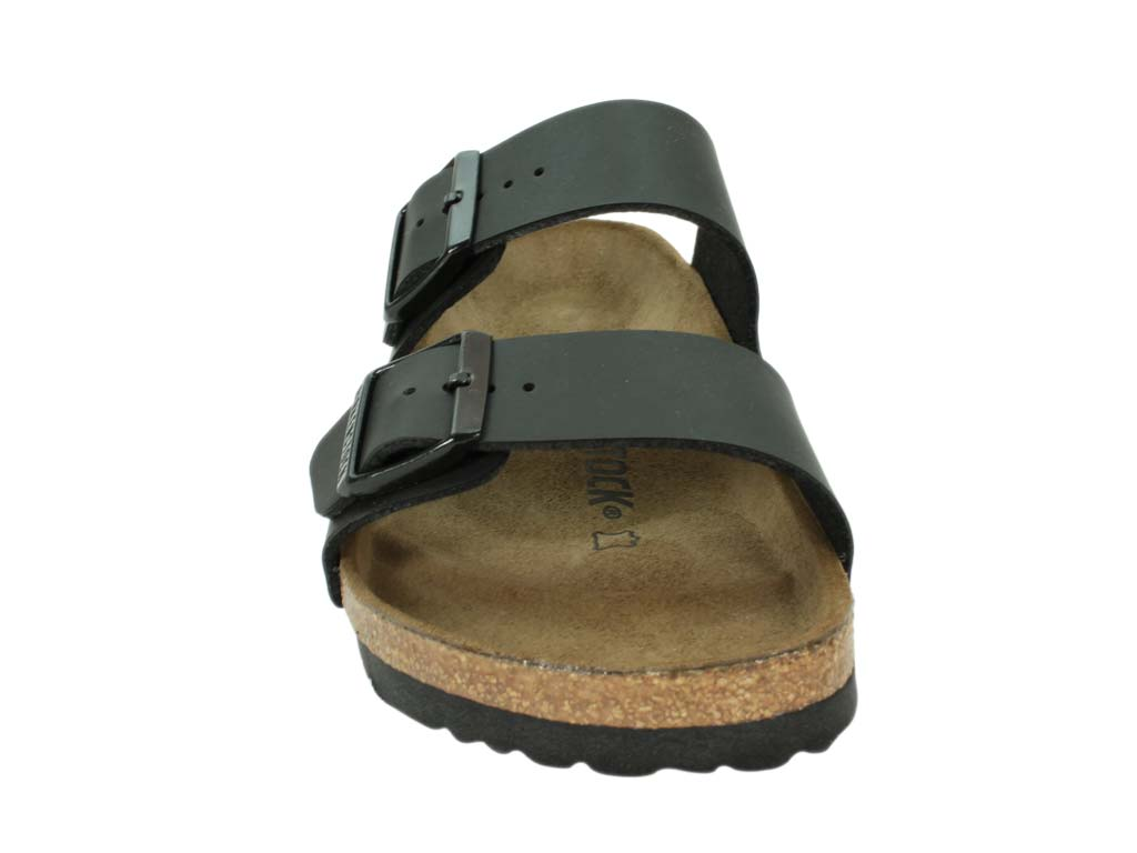Birkenstock Sandals Arizona Black front view