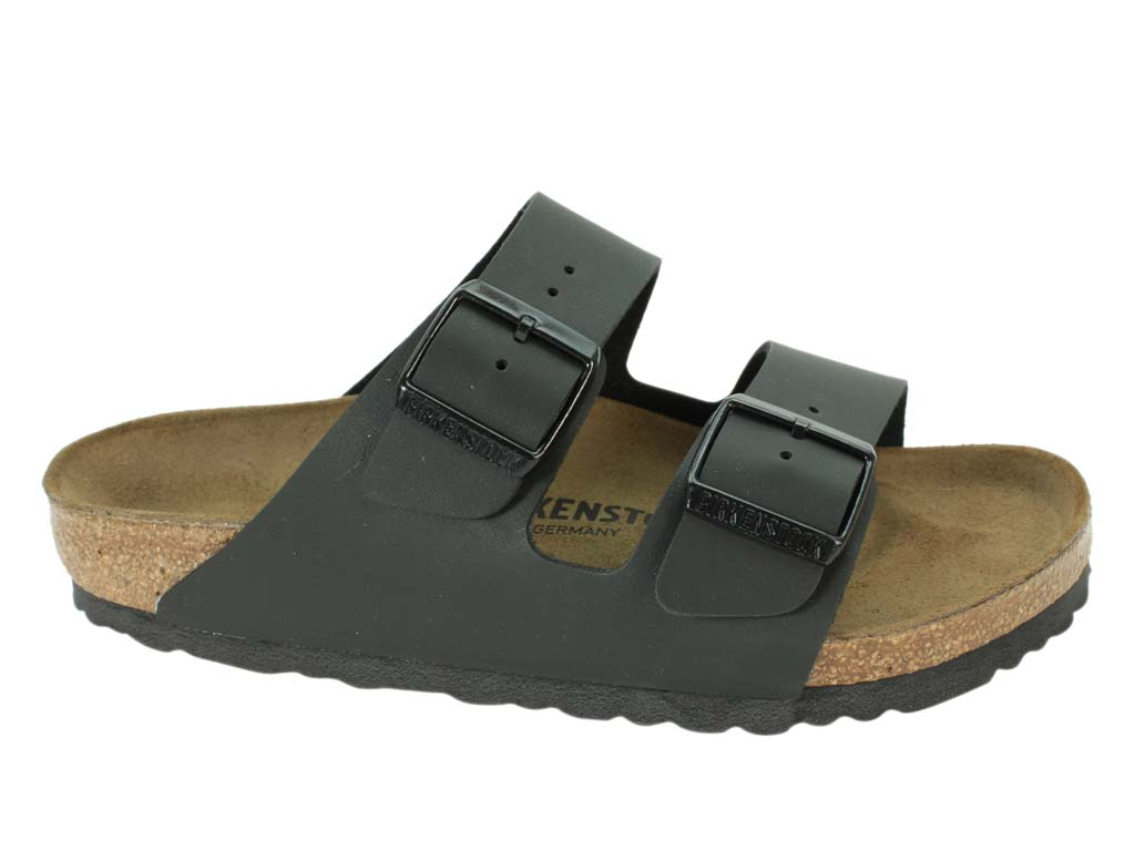Birkenstock Sandals Arizona Black side view