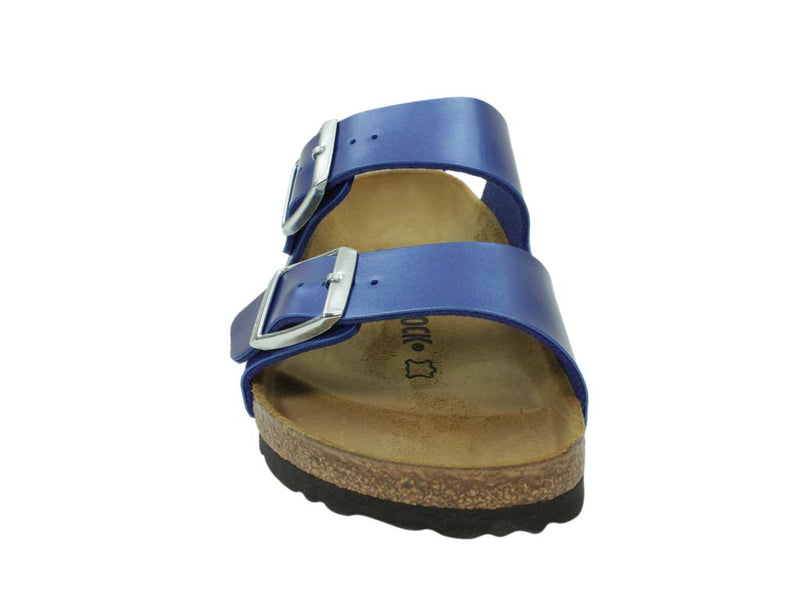 Birkenstock Sandal Arizona Electric Blue front view