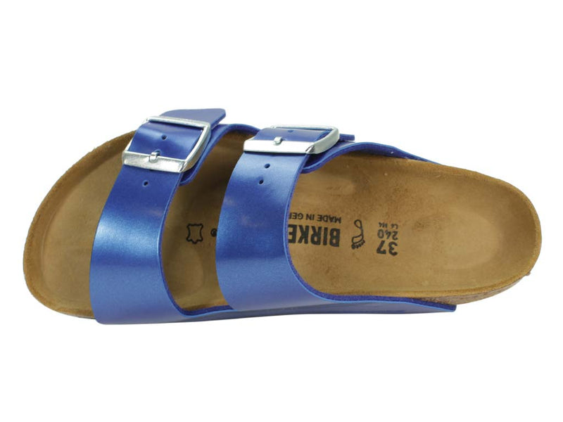 Birkenstock Sandal Arizona Electric Blue top view