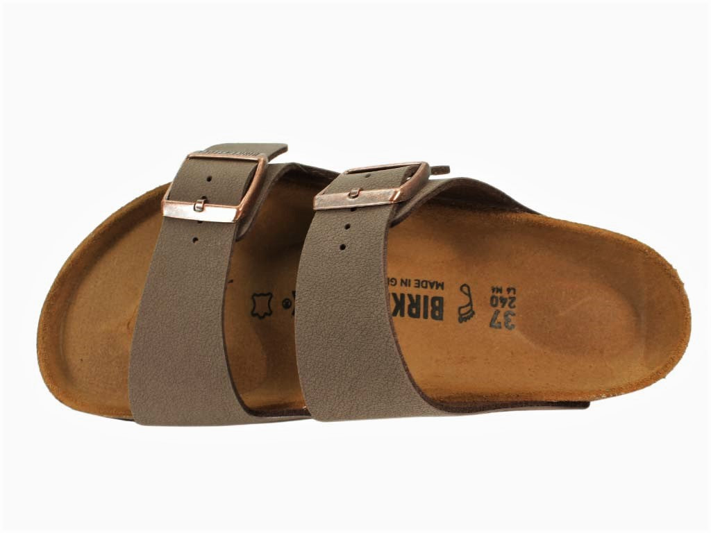 Birkenstock Sandals Arizona Mocha Brown top view