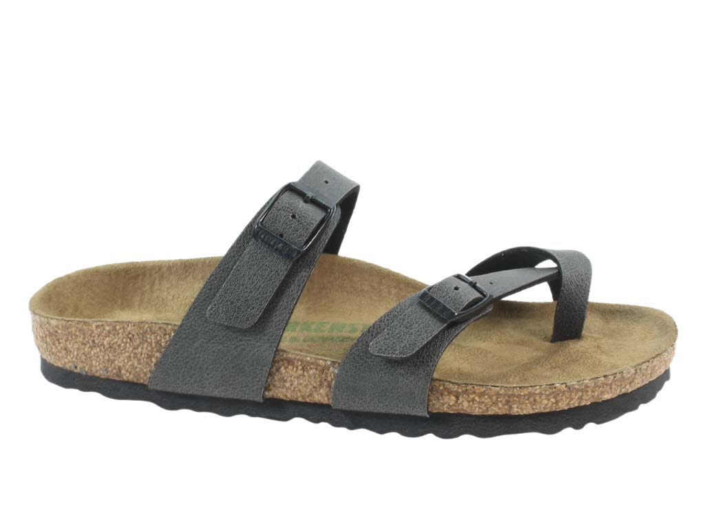Birkenstock Sandal Mayari Anthracite side view