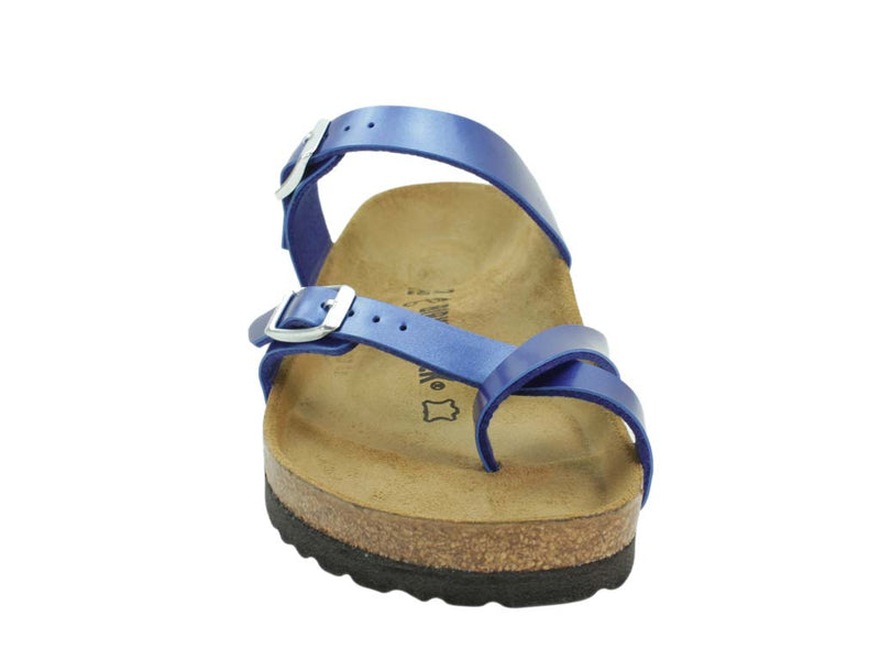 Birkenstock Sandal Mayari Electric Blue front view