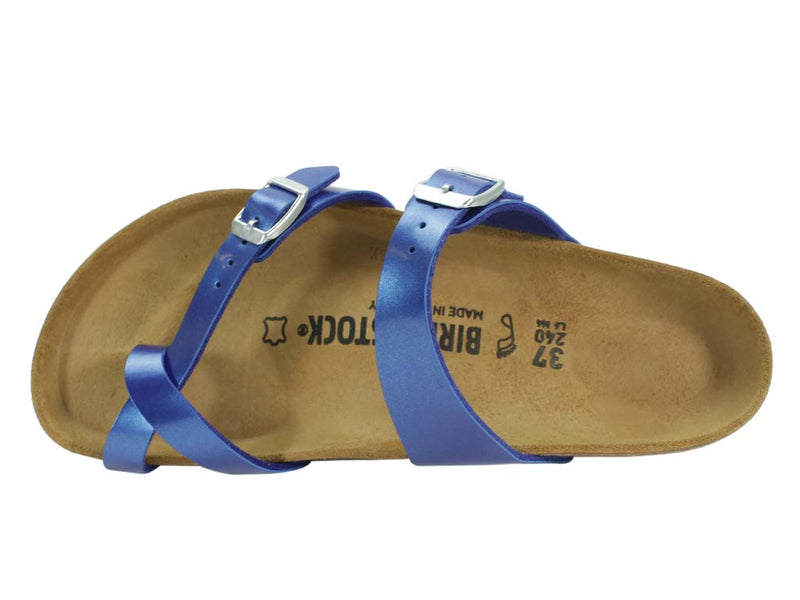 Birkenstock Sandal Mayari Electric Blue top view