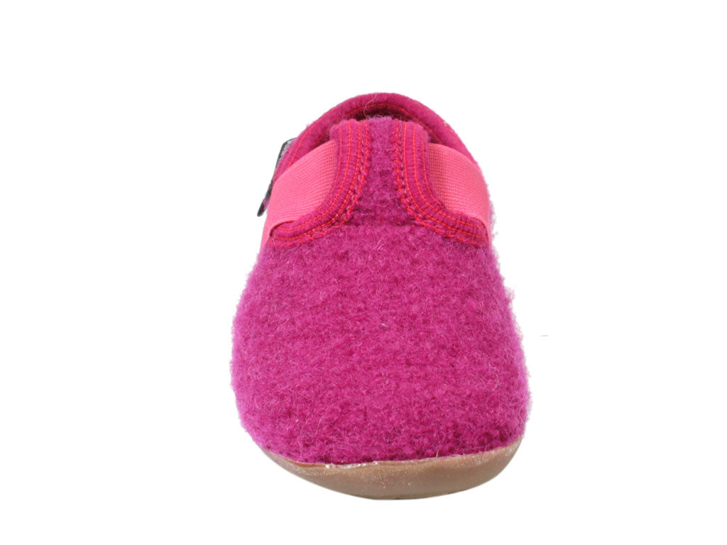 Haflinger Everest Children's slippers Jonas Pink