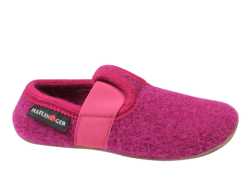 Haflinger Children's slippers Everest Jonas Pink