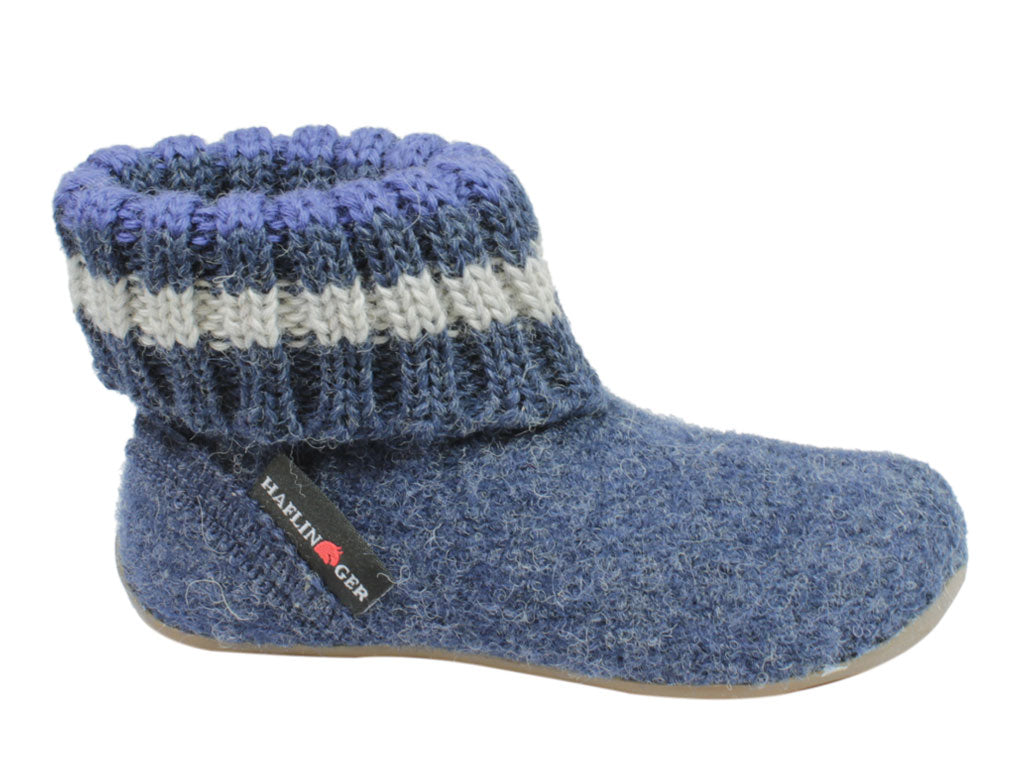 Haflinger Everest Children's slippers Pablo Jeans