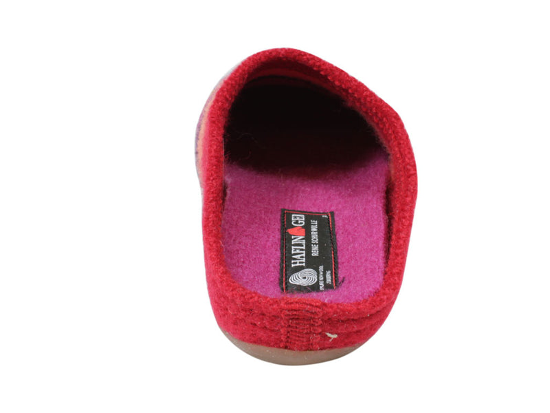 Haflinger Slippers Everest Prisma Red