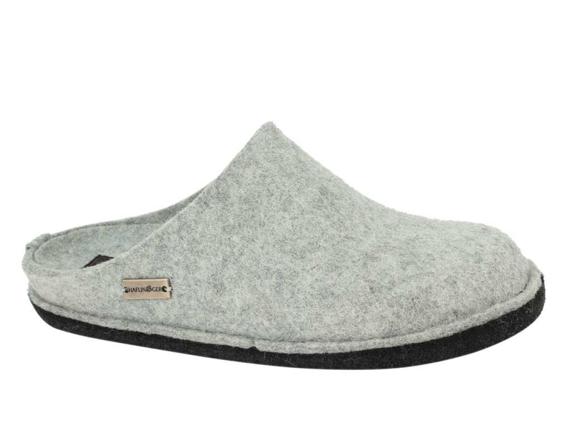 Haflinger Slippers Flair Soft Light Grey