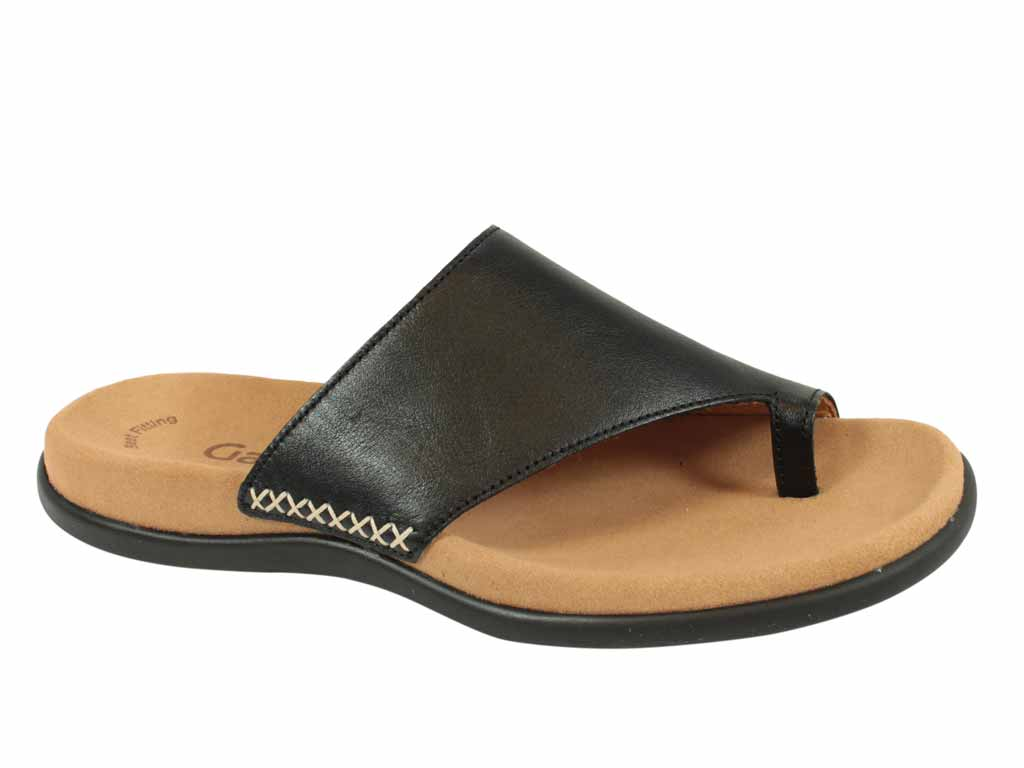 Gabor Sandals Lanzarote 03.700 Black side view
