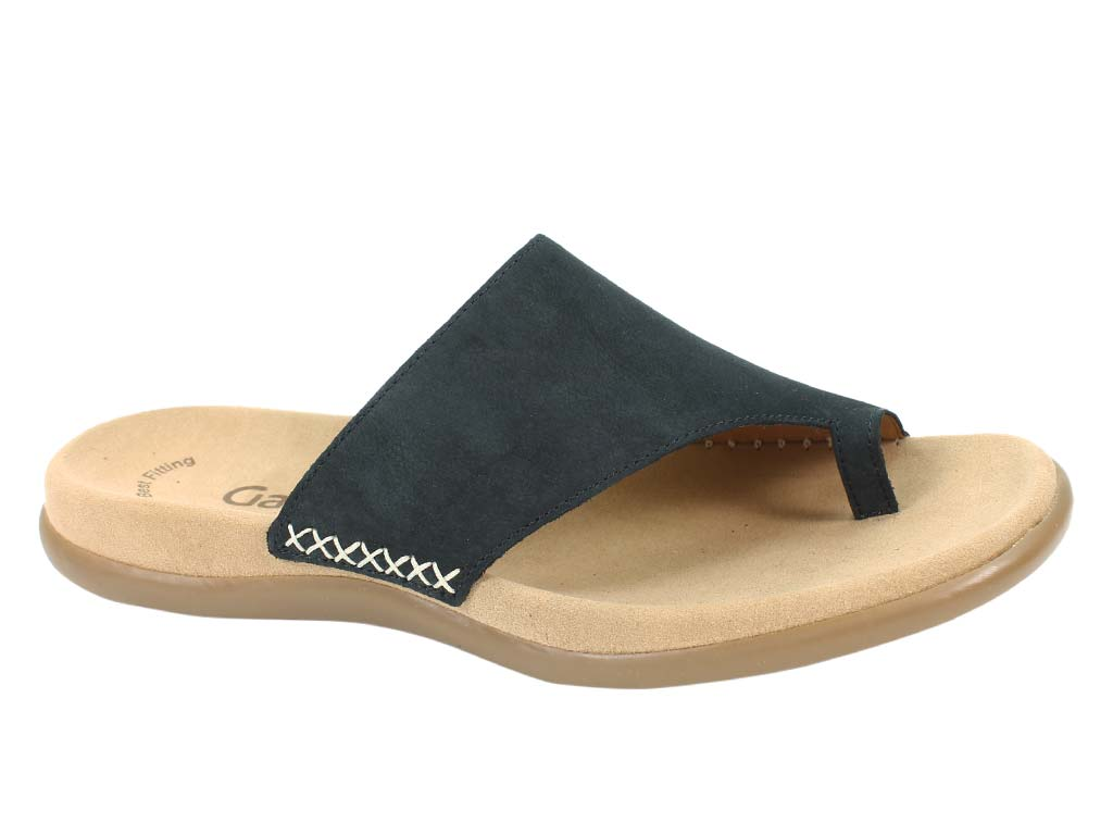 Gabor Sandals Lanzarote Nightblue side view