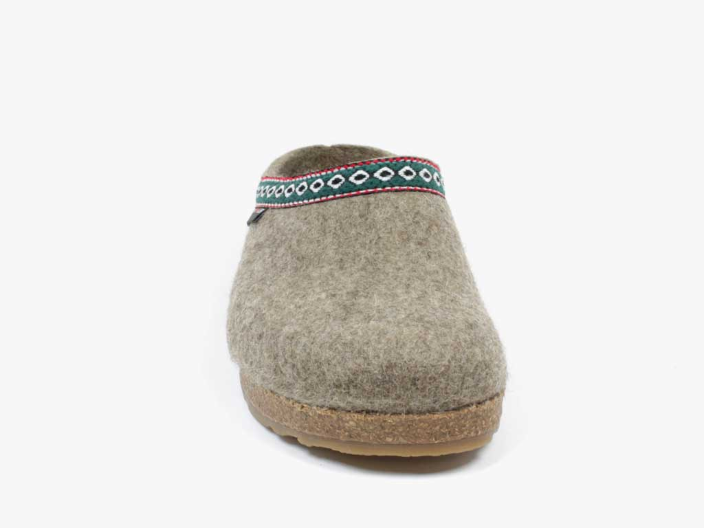 Grizzly Franzl Felt Clogs Torf