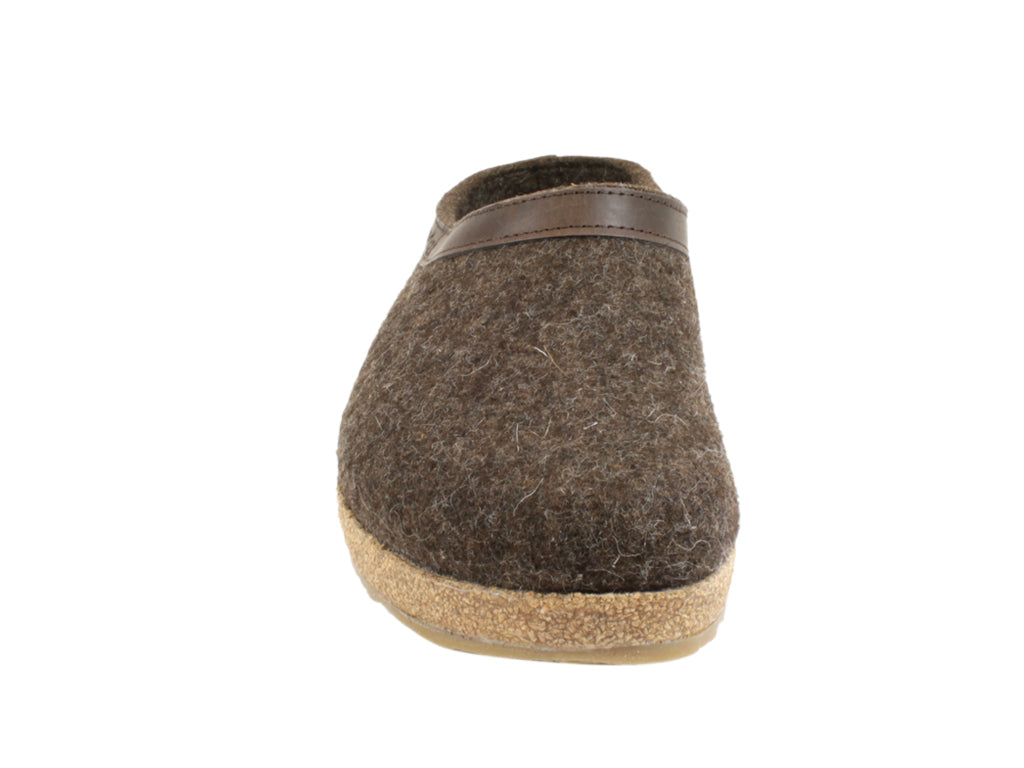 Haflinger Clogs Grizzly Torben Choco