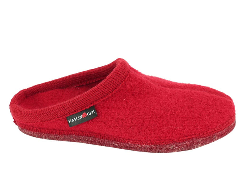 Haflinger Slippers Alaska Red