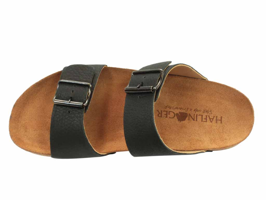 Haflinger Men Sandals Andrew Black