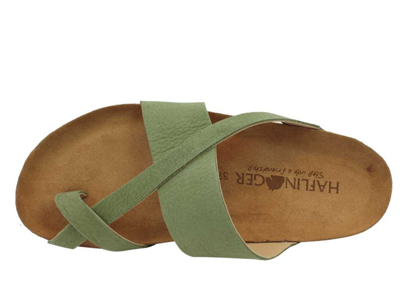 Haflinger Sandals Jacks Khaki