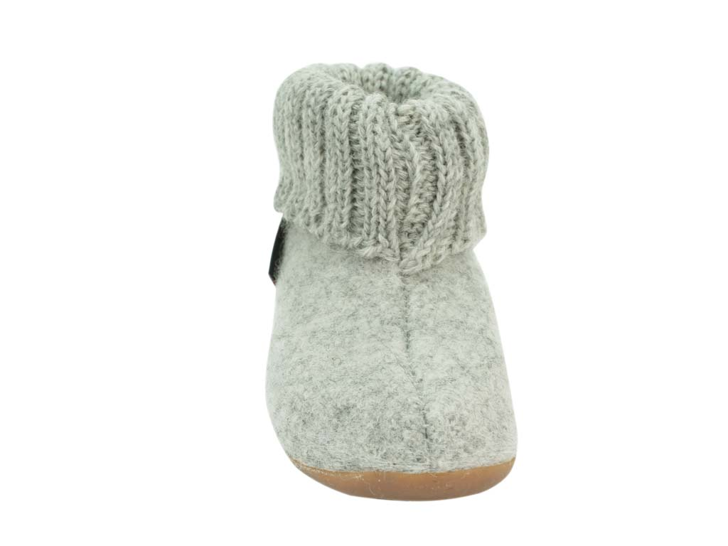 Haflinger Children's slippers Karlo Light Grey