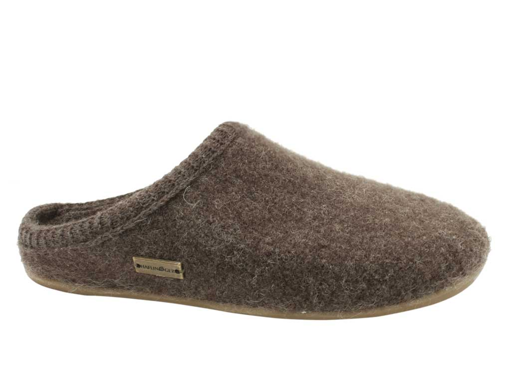 Haflinger Dakota Classic slippers Brown
