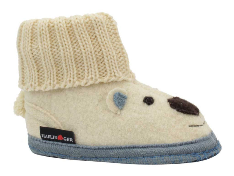 Haflinger Children's slippers Eric Blue