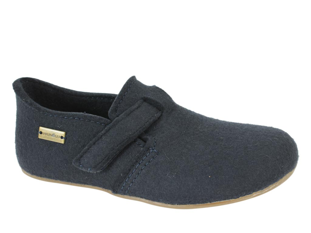 Haflinger Everest Focus Blue Slippers
